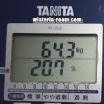 #22【目指せ-17kg!40代からのダイエット7月の結果】